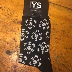 3️⃣/$20 🧦 Men's socks - Rubik's Cube